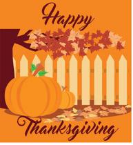 Pumpkins Happy Thanksgiving